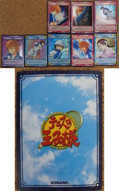 The Prince of Tennis : 8 Japanese Trading Cards http://www.japanstuff.biz/ CLICK THE FOLLOWING LINK TO BUY IT ( IF STILL AVAILABLE ) http://www.delcampe.net/page/item/id,365158090,language,E.html