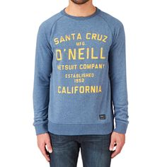 O'Neill Santa Cruz Sweatshirt - Ensign Blue