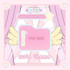 Simbolos Para Nicks, Overlays Tumblr, Cute Themes, Aesthetic Template, Cartoon Background, A Silent Voice, Colour Pallete, Instagram Highlight Icons, Kawaii Anime Girl