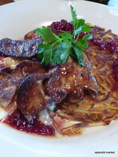 The Most Delectable Duck Foie Gras Ever Served With A Rosti Potatoes Cheese