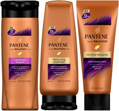 Pantene Truly Relaxed Hair care