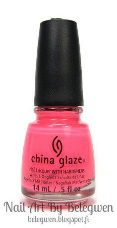 China Glaze - Thistle Do Nicely