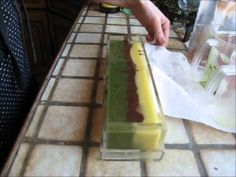 CP Soap Making secret swirl #1 Making this tomorrow... with chamomile and pink clay!