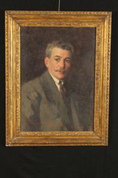 Nicola Arduino (1887-1974) - Ritratto maschile