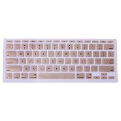 """HQF® [Keyboard Skin 12 Inch ]- Silicone Rubber Keyboard Cover Skin Stickers Protector for 12"""" New Apple Macbook 12-Inch with Retina Display 2015 Version(Champagne Gold) HQF http://www.amazon.com/dp/B00W963W94/ref=cm_sw_r_pi_dp_Wkorvb1R160Z7"""