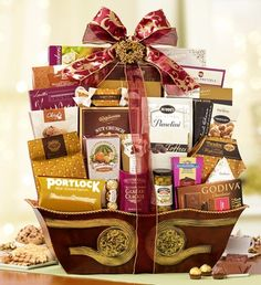 Tastes of Distinction Gourmet Gift Basket $169.99