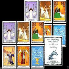 NEU 1995 1.Auflage Einhorn Tarot Original Unicorn Tarot Karten legen Kartenlegen