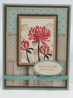 Kind and Caring Thoughts by llrandolph - Cards and Paper Crafts at Splitcoaststampers