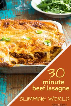 Make this easy Slimming World's beef lasagne to share with the whole family. Everyone will love this traditional Italian dinner. Slimming World Treats, Slimming World Dinners, Slimming Eats, Beef Lasagne, Lasagne Recipes, Slimming World Recipes Syn Free Chicken, Beef Recipes For Dinner, Cooking Recipes, Slimming World Lasagne