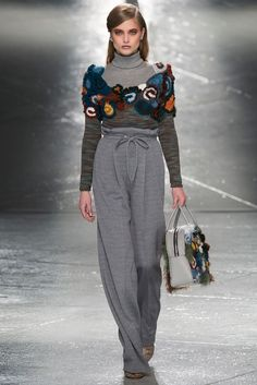 Rodarte Fall 2014 Ready-to-Wear - Collection - Gallery - Look 1 - Style.com