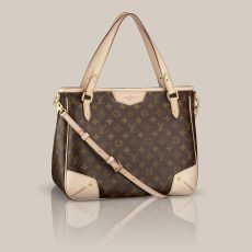 Estrela MM Monogram Canvas Add some classic Louis Vuitton luxury to every day with the Estrela MM. Iconic Monogram canvas and a timeless shape give it lasting appeal, while its multi-carry options add a chic modern twist.