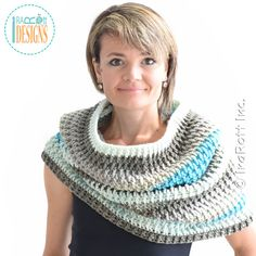 Cake Craze Chunky Cowl Crochet Pattern by IraRott has just been released!