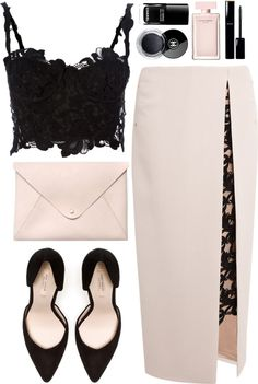 "Throw in a modest jacket to level out the sexy and you're done!! ""538"" by dasha-volodina on Polyvore"
