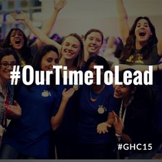 The Grace Hopper Celebration of Women in Computing is the World's Largest Gathering of Women Technologists.