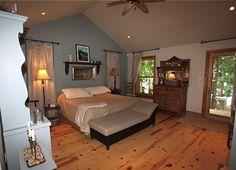 11794 Loyalist Parkway. Picton, Ontario. Master bedroom.