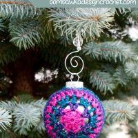 Joy! Festive Christmas Ornament Cover
