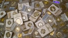 #coins ****New Collector SPECIAL**** Huge Variety Lot of US Coins - L@@@@K - SILVER please retweet