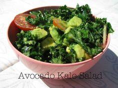 Avacado Kale Salad