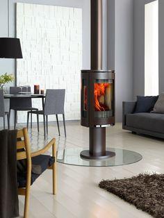 modern fireplace by jotul F373