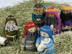 Knitting Network followers and Woman's Weekly readers it's soon time for our special Nativity Knit Along! The colour pack will be released soon to be followed b