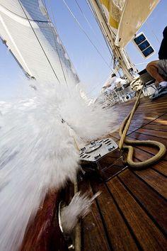 yachtgasm:  Velsheda, Antigua Classics 2008