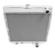 American Eagle Two Row Aluminum Radiator for 1963 to 1970 Ford Mustang, Cougar, Fairlane AE340