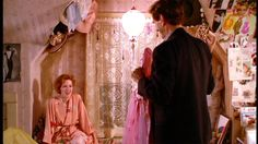 bedroom; pretty in pink