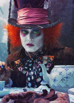 Alice no País das Maravilhas - Chapeleiro Maluco.