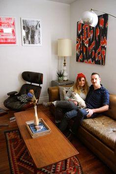 Kb & Bru's Playful Creative Space in Nashville — House Tour