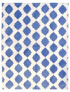 Tile Print Tea Towel