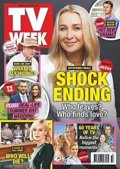 #TVWeek #magazines #covers #september #2016 #TV #entertainment #television #guide #homeandaway #aplacetocallhome #offspring