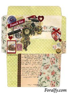 French Kiss Envelope