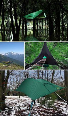 Tentsile: Extreme Travel Tree Tents Hang Like Hammocks