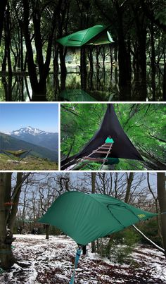 Tentsile: Extreme Travel Tree Tents Hang Like Hammocks