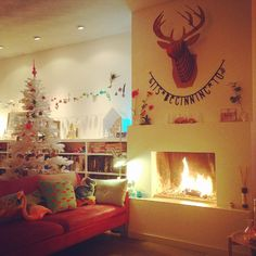 My home. Christmas! www.redcherryrodekers.blogspot.nl