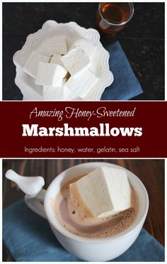 A must-have for both campfires and hot cocoa, marshmallows are fluffy sweet candies that are surprisingly easy to make! With just honey, water, gelatin, and a pinch of sea salt these marshmallows are also suitable for many allergen-free diets including SCD and the GAPS diet. These marshmallows will toast, but they need to be cured...