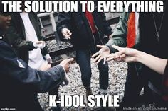 The solution to everything | allkpop Meme Center
