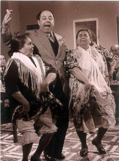 La Chicharrona, Antonio Mairena y Tía Juana la del Pipa