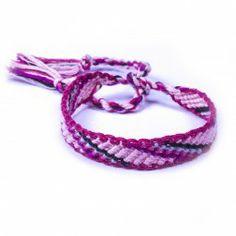 Bracelet Brésilien Droit Rose