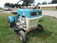 7hp Penncraft lawn mower tractor