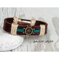 Mannen mode, Kerstmis van giftideeën, Friendship Bracelet, Sailor... (€24) ❤ liked on Polyvore featuring jewelry, bracelets, armband jewelry, friendship bracelet and sailor jewelry