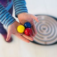 Extra Set of Marbles for Labyrinth Balance Board