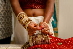 Beautiful indian bridal bangles. http://www.maharaniweddings.com/gallery/photo/81233