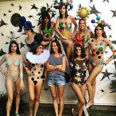 Bodies carnavalescos por Alexia Hentsch (Foto: Reprodução Instagram)