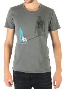 Nudie 2000 Miles T-Shirt grey (XL): Amazon.co.uk: Clothing