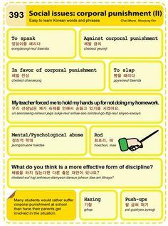 393 Social Issues: corporal Punishment II 2 Learn Korean Hangul