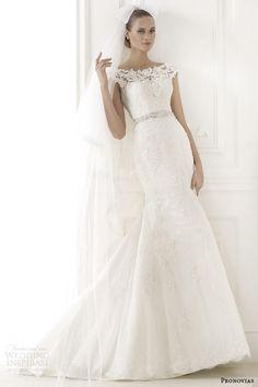 pronovias 2015 pre bridal collection botis cap sleeve wedding dress