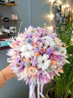 Hand Bouquet, Dried Flower Bouquet, Small Bouquet, Dyi Flowers, Pastel Flowers, Pretty Flowers, Wedding Bouquets, Wedding Flowers, Alternative Bouquet