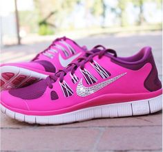 Nikes with bling!  Got to have these.