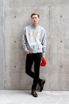 Korean mens fashion